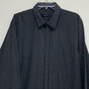 Vintage structure Button up long Sleeve